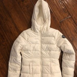 Girls Abercrombie Puffer Jacket - Medium
